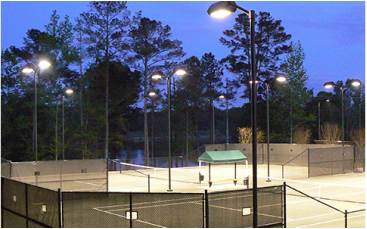 AeroPro Tennis Court Lighting