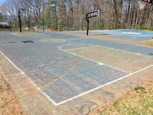 Removing-Surface-Basketball-Court-Scarifying